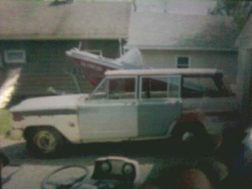 1964 Jeep Wagoneer J-100 W/ Chevy 350 Engine For Sale In