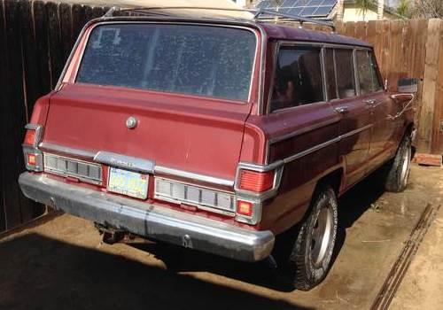 1979 jeep wagoneer 360 v8 for sale in bakersfield california 800. Black Bedroom Furniture Sets. Home Design Ideas
