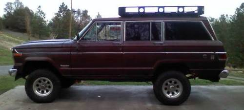 1981 jeep wagoneer for sale in penn valley gold country california. Black Bedroom Furniture Sets. Home Design Ideas