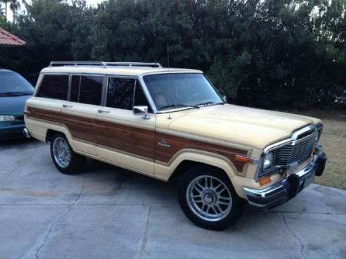 1985 jeep grand wagoneer fsj gw for sale in downingtown. Black Bedroom Furniture Sets. Home Design Ideas