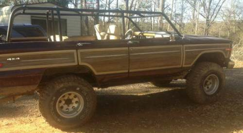 1988 jeep wagoneer automatic for sale in birmingham alabama 2 500. Black Bedroom Furniture Sets. Home Design Ideas