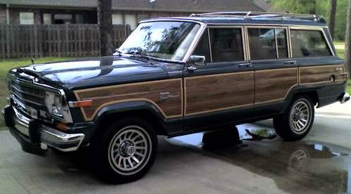 1989 pro restored jeep grand wagoneer for sale in boston. Black Bedroom Furniture Sets. Home Design Ideas