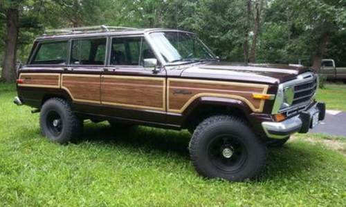 1989 Jeep Grand Wagoneer For Sale in Springfield, Missouri ...