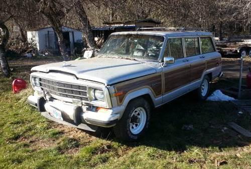 1990 jeep grand wagoneer for sale in azalea roseburg oregon 2k. Black Bedroom Furniture Sets. Home Design Ideas