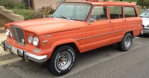 1964 Jeep Wagoneer J-100 w/ Chevy 350 Engine For Sale in ...