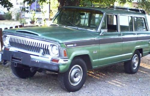 1973 Jeep Wagoneer 4+4 360 V8 For Sale by Owner in Weed ...