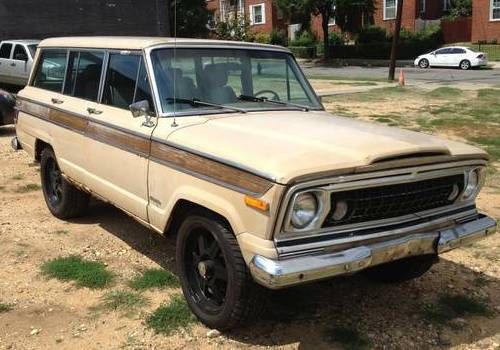 1977 Jeep Grand Wagoneer For Sale by Owner in Northern ...