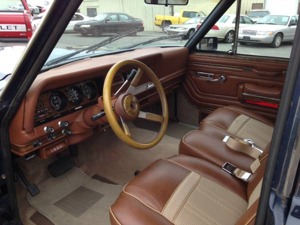 1983 Jeep Wagoneer Limited For Sale By Owner In Apex