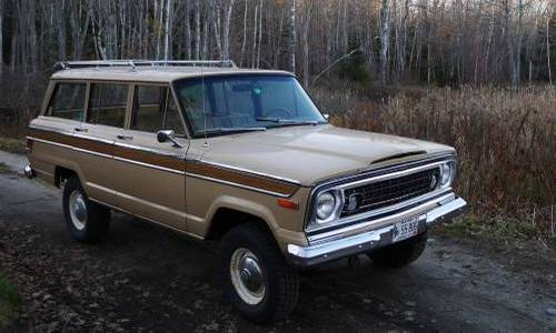1976 jeep wagoneer amc 360 turbo 400 auto for sale south portland me. Black Bedroom Furniture Sets. Home Design Ideas