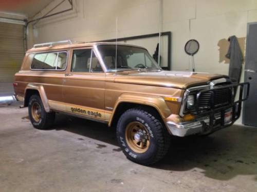 1979 jeep cherokee chief s golden eagle for sale in boise idaho 6k. Black Bedroom Furniture Sets. Home Design Ideas