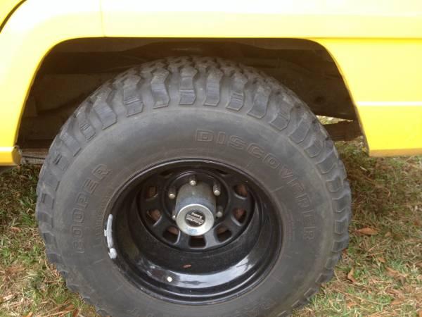1985 Jeep Grand Wagoneer 4X4 For Sale Goldsboro Eastern ...