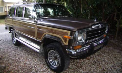 1988 Jeep Grand Wagoneer Woody For Sale in New Smyrna ...