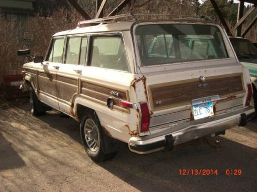 1988 jeep wagoneer w snow plow for sale in rapid city south dakota. Black Bedroom Furniture Sets. Home Design Ideas