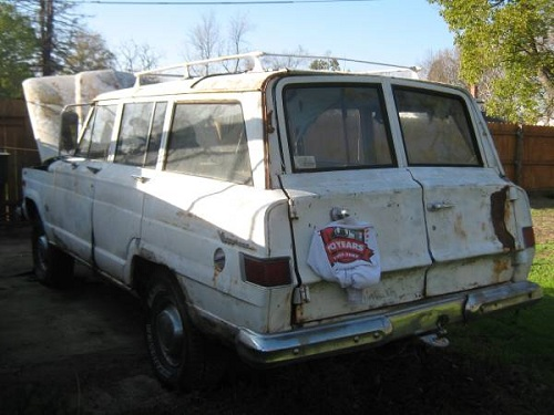 1965 Jeep Grand Wagoneer 327 chevy For Sale in Sacramento ...