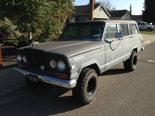 1969 jeep grand wagoneer for sale in salida california. Black Bedroom Furniture Sets. Home Design Ideas