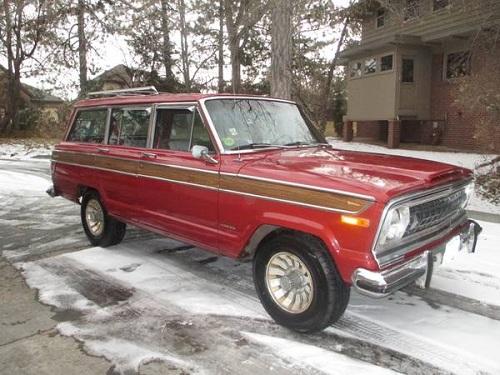 1978 jeep grand wagoneer v8 401 for sale in denver colorado. Black Bedroom Furniture Sets. Home Design Ideas