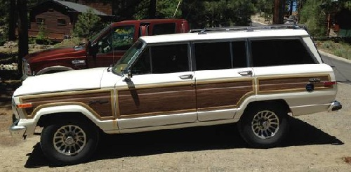 1987 Jeep Grand Wagoneer SUV 8 cyl For Sale in Stateline ...