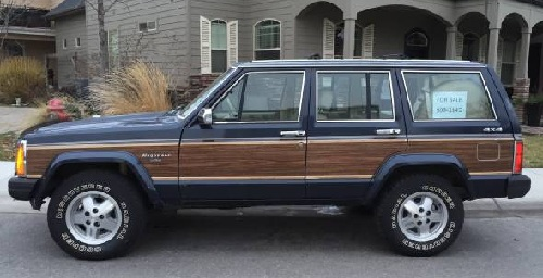 1990 jeep grand wagoneer in line 6 for sale in boise idaho. Black Bedroom Furniture Sets. Home Design Ideas