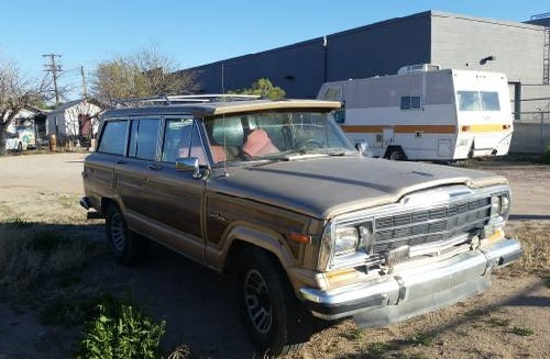 1990 jeep grand wagoneer v8 for sale in tucson arizona. Black Bedroom Furniture Sets. Home Design Ideas