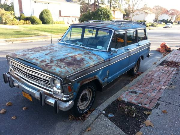 1972 jeep grand wagoneer v8 for sale in islip terrace new york. Black Bedroom Furniture Sets. Home Design Ideas