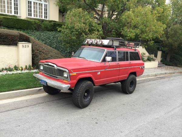 1979 jeep grand wagoneer 360 v8 for sale in los angeles california. Black Bedroom Furniture Sets. Home Design Ideas