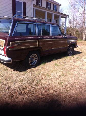 1988 Jeep Grand Wagoneer For Sale in Dalton, Georgia