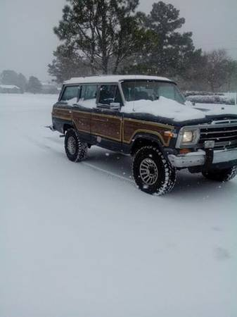 1989 Jeep Grand Wagoneer 360 Auto For Sale in New Bern ...