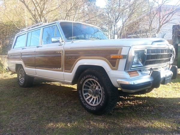 1989 jeep grand wagoneer 360 for sale in wilmington north. Black Bedroom Furniture Sets. Home Design Ideas