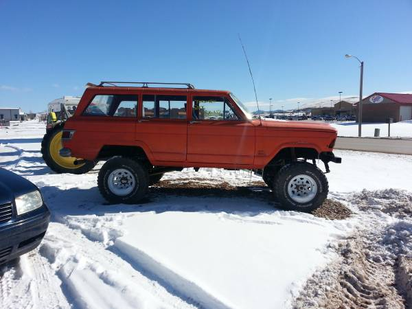 1971 jeep grand wagoneer manual for sale in rapid city south dakota. Black Bedroom Furniture Sets. Home Design Ideas