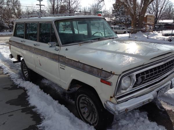 1976 Jeep Grand Wagoneer 401 V8 Auto For Sale In Lafayette