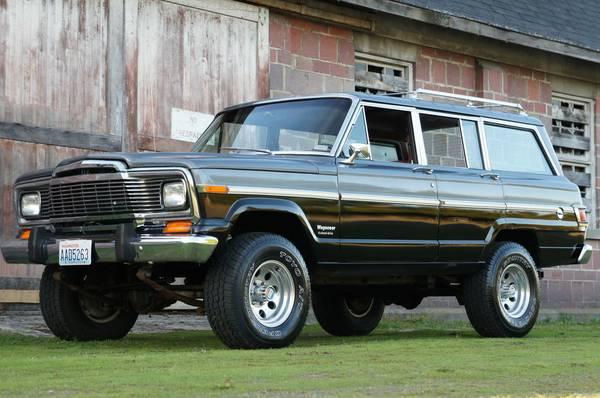 1979 jeep grand wagoneer amc 360 for sale in danbury connecticut. Black Bedroom Furniture Sets. Home Design Ideas