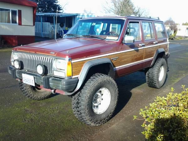 1974 Jeep Grand Wagoneer V6 3spd Manual For Sale In Portland Oregon
