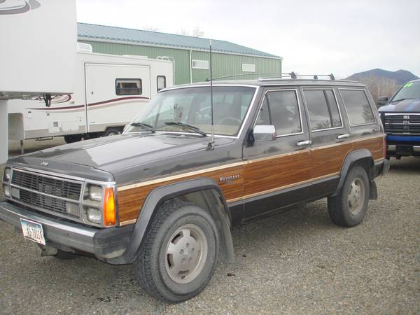 1986 jeep grand wagoneer v6 auto for sale in helena montana. Black Bedroom Furniture Sets. Home Design Ideas