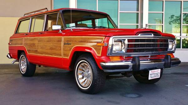 1980 jeep grand wagoneer automatic for sale in san diego california. Black Bedroom Furniture Sets. Home Design Ideas