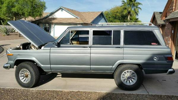 1982 Jeep Grand Wagoneer AMC 5.8 Auto For Sale in Phoenix ...