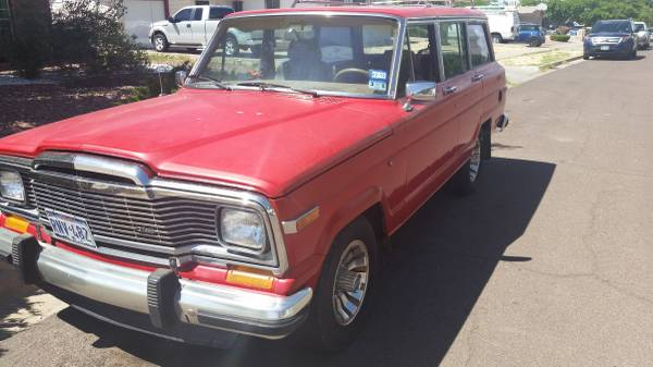 1986 Jeep Grand Wagoneer V8 Auto For Sale in Pasadena ...