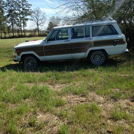 1989 jeep grand wagoneer v8 auto for sale in raleigh Eau claire craigslist farm and garden
