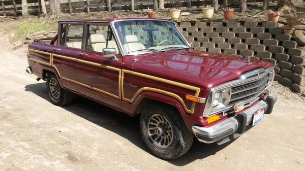 1990 Jeep Grand Wagoneer 5 9 L V8 Auto For Sale in