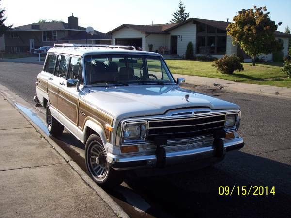 1988 jeep grand wagoneer 360 v8 for sale in helena montana. Black Bedroom Furniture Sets. Home Design Ideas