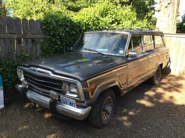 1988 Jeep Grand Wagoneer 360 V8 727 Auto 4X4 For Sale in ...