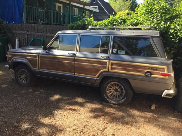 Emissions Testing Spokane >> 1988 Jeep Grand Wagoneer V8 Auto For Sale in Shoreline ...