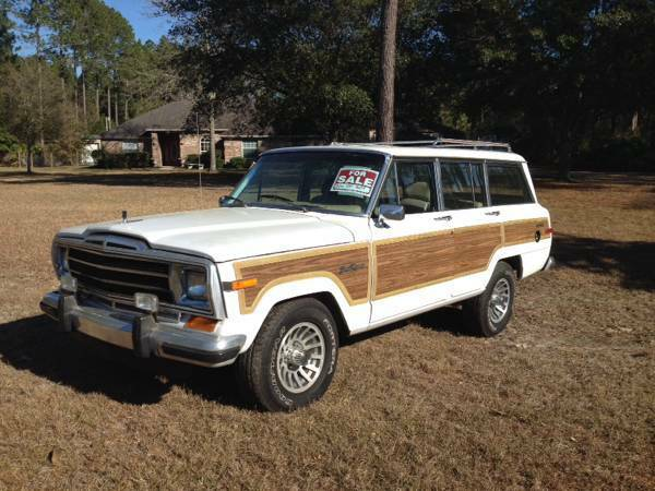 1990 jeep grand wagoneer amc 360 v8 for sale in jacksonville florida. Black Bedroom Furniture Sets. Home Design Ideas