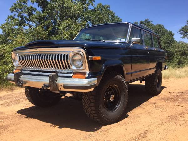 1985 Jeep Grand Wagoneer V8 Auto For Sale In Denton Texas