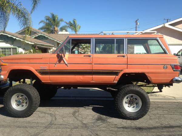 1976 Jeep Grand Wagoneer V8 Auto For Sale in Downey ...