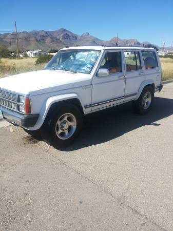 1986 jeep grand wagoneer v4 automatic for sale in el paso texas. Black Bedroom Furniture Sets. Home Design Ideas