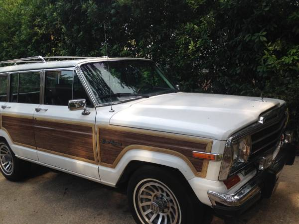 1988 Jeep Grand Wagoneer V8 Automatic For Sale in ...