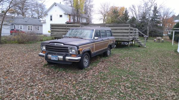 1986 Jeep Grand Wagoneer 360 3spd Auto For Sale in Memphis ...