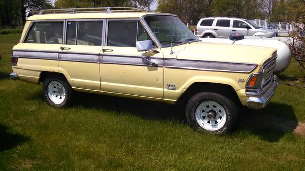 1971 jeep grand wagoneer amc 1414x for sale in lansing michigan. Black Bedroom Furniture Sets. Home Design Ideas
