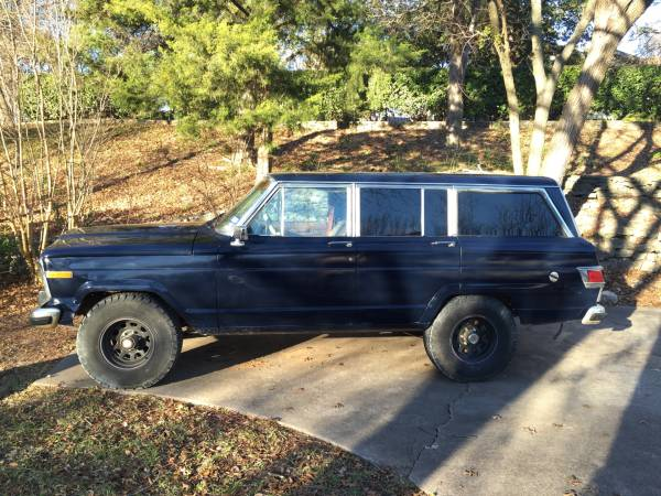 1981 Jeep Grand Wagoneer AMC 360 V8 For Sale in ...