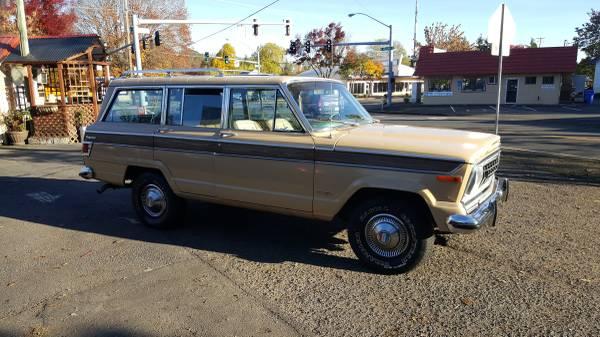 Craigslist Norman Ok >> 1977 Jeep Grand Wagoneer 401 V8 Auto For Sale in Eugene ...